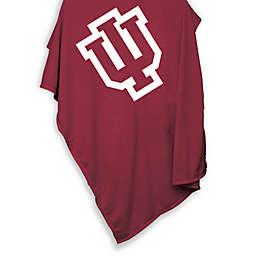 University of Indiana 54-Inch x 84-Inch Sweatshirt Throw Blanket