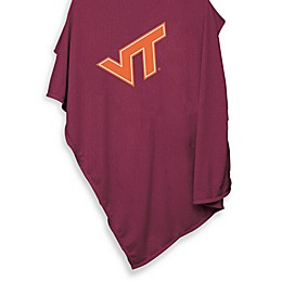 Virginia Tech University 54-Inch x 84-Inch Sweatshirt Throw Blanket