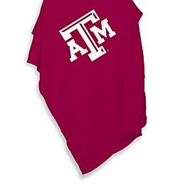Texas A&M University 54-Inch x 84-Inch Sweatshirt Throw Blanket