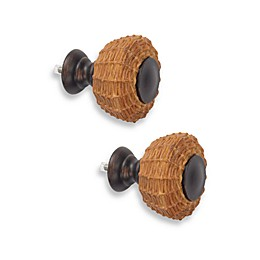 Cambria® Outdoor Living Oil Rubbed Bronze Wicker Finials