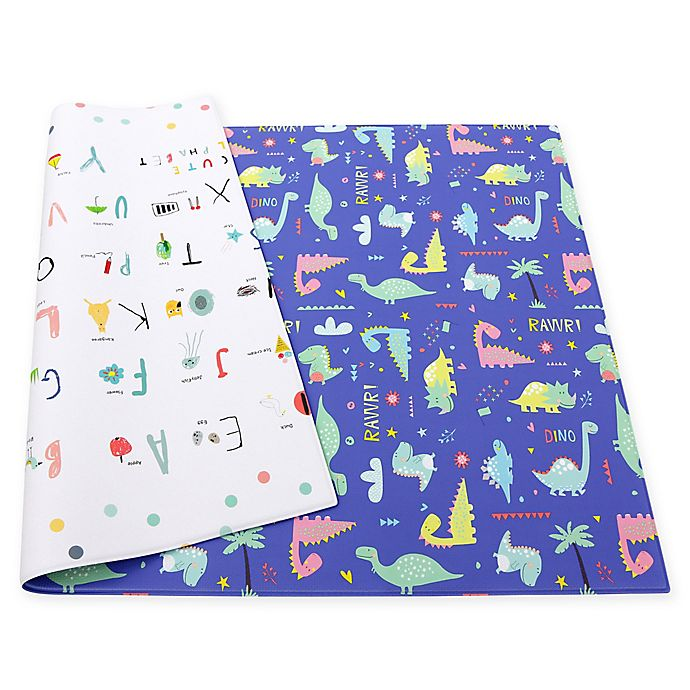 Alternate image 1 for Baby Care™ Good Dinosaur Reversible Multicolor Playmat
