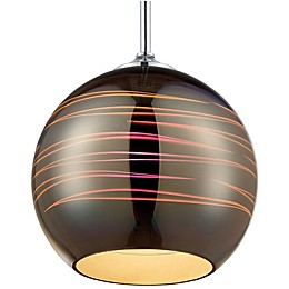Rogue Decor Company Spacey 9.5-Inch Mini Pendant in Polished Chrome