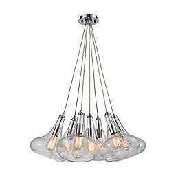 Elk Lighting Orbital 7-Light Pendant Light in Chrome