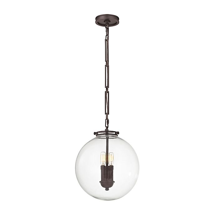 Alternate image 1 for ELK Lighting Gramercy 3-Light Pendant in Oil Rubbed Bronze