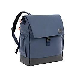 Lassig Vintage Little One & Me Reflective Backpack Diaper Bag in Navy