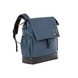 Lassig Small Vintage Little One & Me Reflective Backpack Diaper Bag in Navy