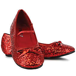Sparkle Ballerina Child's Costume Shoes in Red