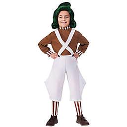 Willy Wonka & the Chocolate Factory Oompa Loompa Child's Halloween Costume