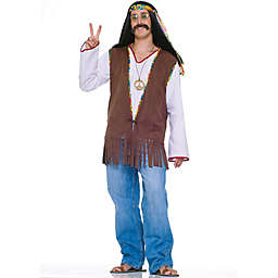 Forum Novelties Adult Faux Suede Hippie Vest Halloween Costume