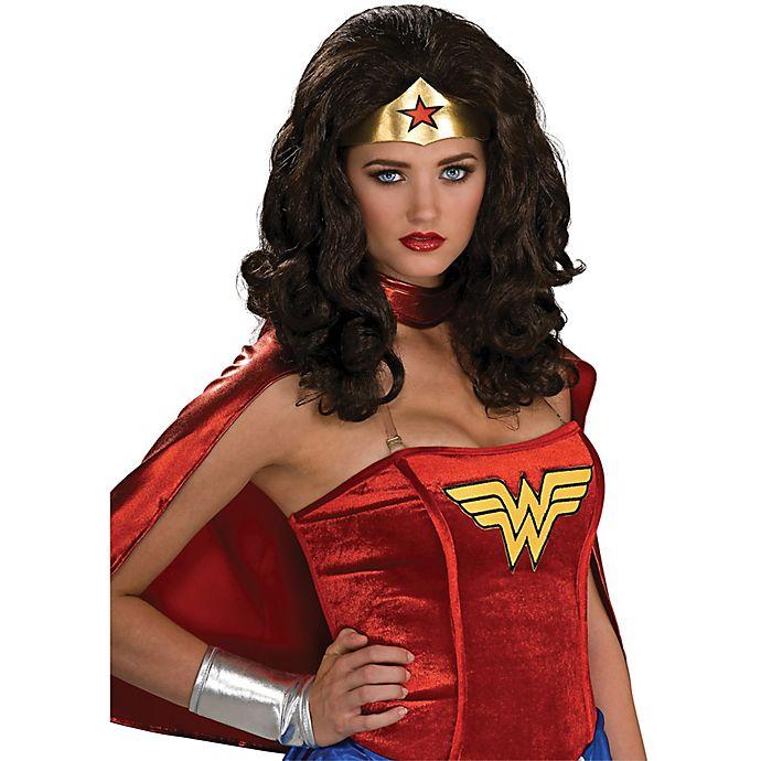 Alternate image 1 for Wonder Woman Adult Wig