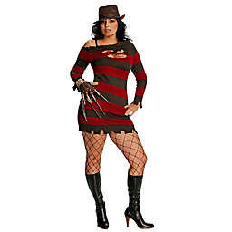 A Nightmare On Elm Street Ms. Krueger Plus Size Adult Halloween Costume