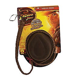 One Size Indiana Jones Hat and Whip Set Adult