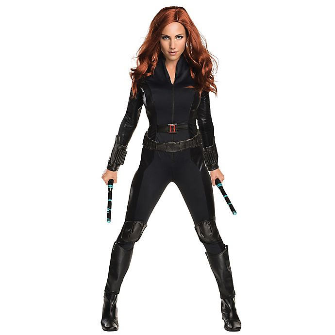 e48ff9d2a Marvel® Captain America Black Widow Adult Women s Halloween Costume ...