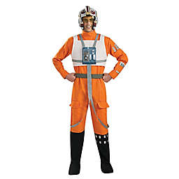Star Wars Clone Wars X-Wing Fighter Pilot Adult Men's One-Size Halloween Costume