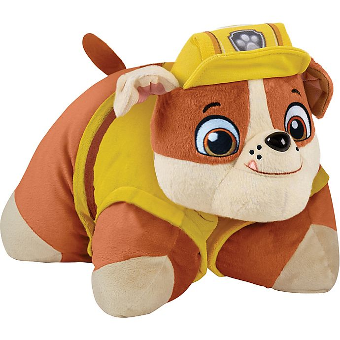 Alternate image 1 for Pillow Pets® Nickelodeon™ PAW Patrol™ Rubble Pillow Pet