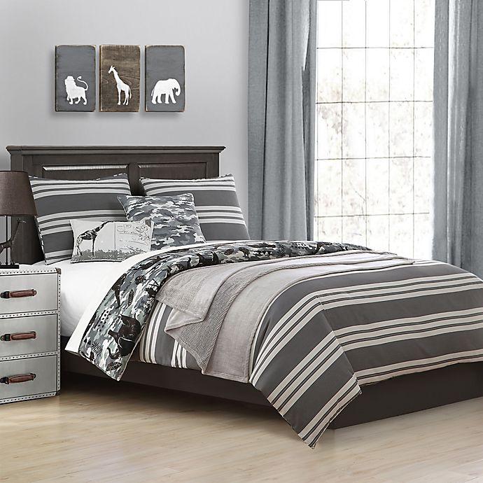 Alternate image 1 for Baxton Studio Stylish Kids' Garvan Reversible Comforter Set