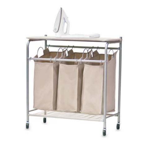 neatfreak triple sorter with ironing board bed bath beyond. Black Bedroom Furniture Sets. Home Design Ideas