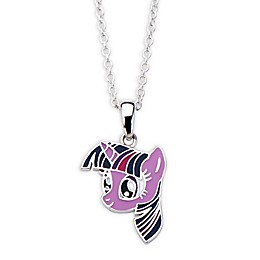 Hasbro® My Little Pony Silver-Plated Twilight Sparkle Children's Pendant Necklace