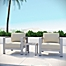 Part of the Modway Shore Aluminum Patio Collection