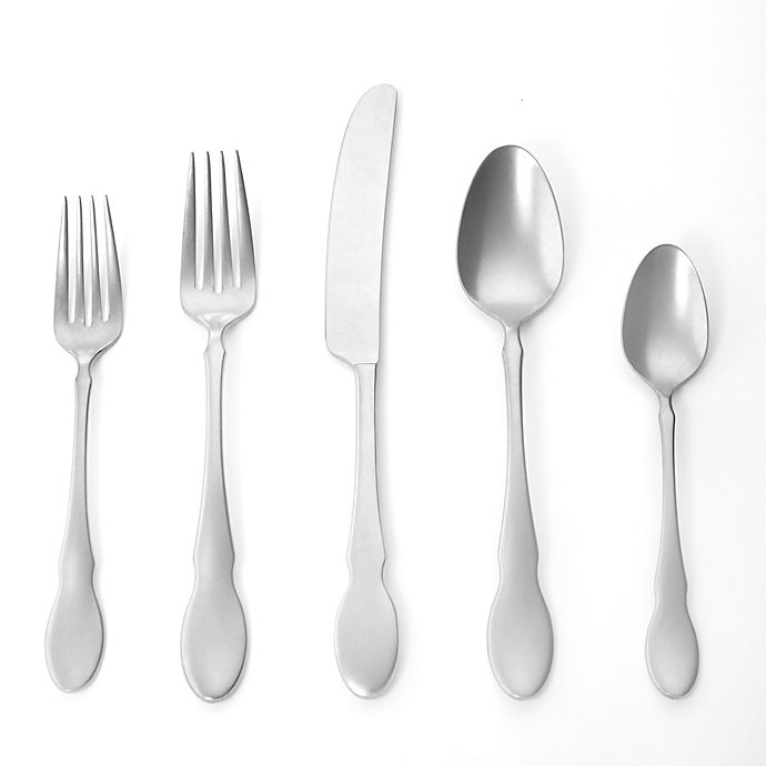 Alternate image 1 for Gourmet Settings Ash Flatware Collection