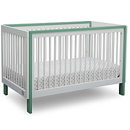 Serta® Fremont 3-in-1 Convertible Crib in White/Aqua
