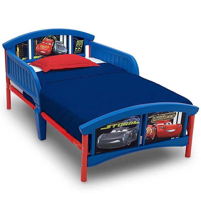 Disney Pixar 174 Cars Plastic Toddler Bed Bed Bath Amp Beyond
