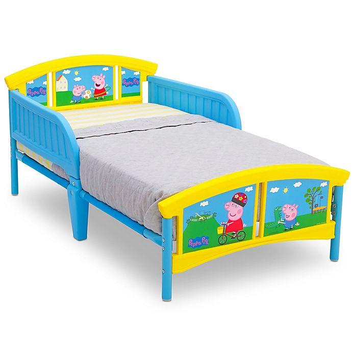 Alternate image 1 for Peppa Pig Plastic Toddler Bed