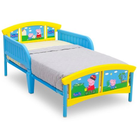 Peppa Pig Plastic Toddler Bed Buybuy Baby
