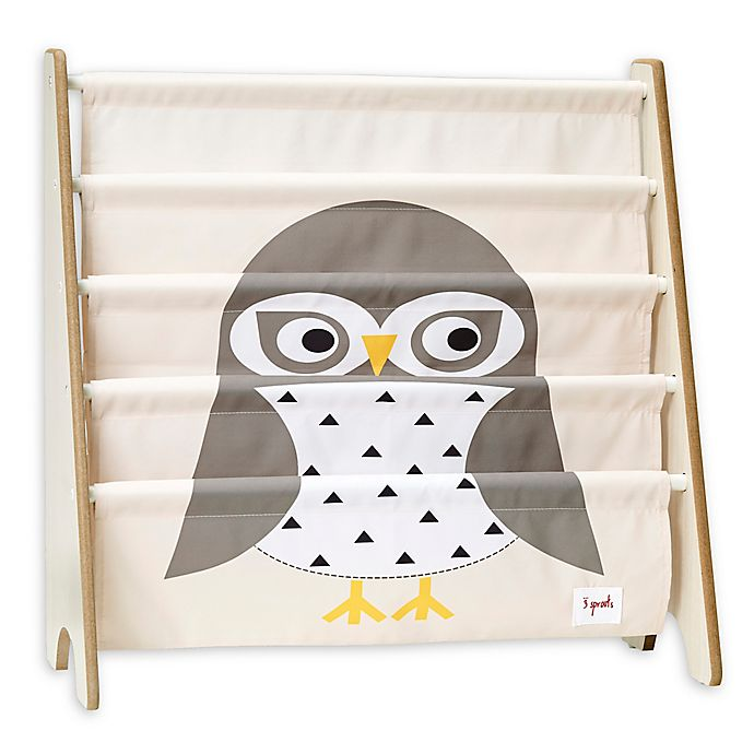 Alternate image 1 for 3 Sprouts Owl Book Rack