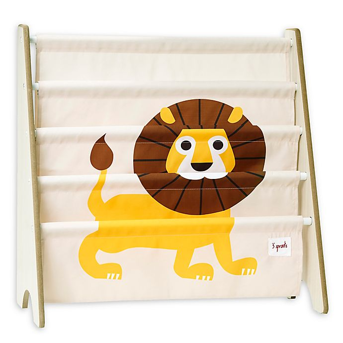 Alternate image 1 for 3 Sprouts Lion Book Rack
