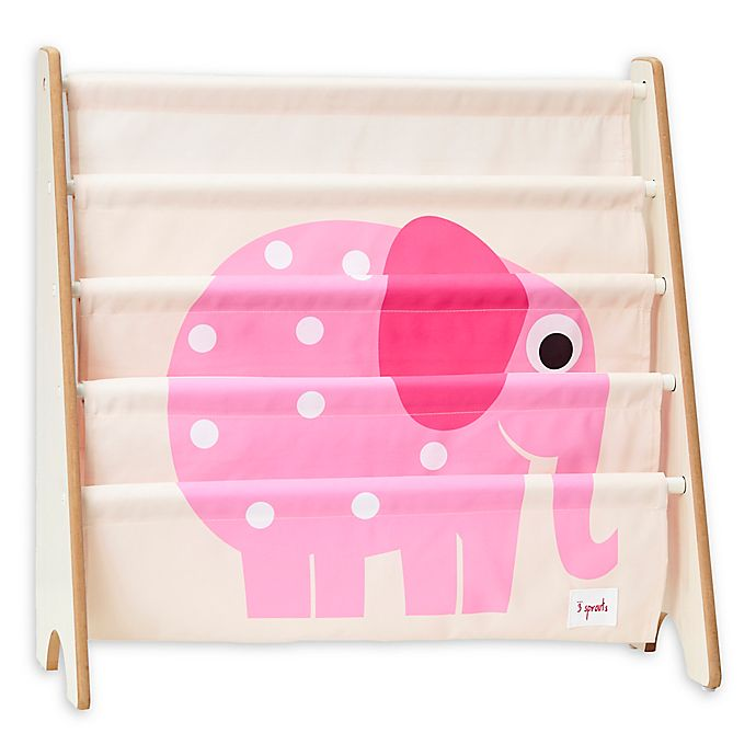 Alternate image 1 for 3 Sprouts Elephant Book Rack