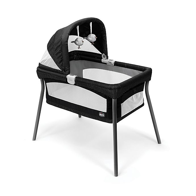 Alternate image 1 for Chicco® LullaGo® Primo Portable Bassinet in Genesis Black