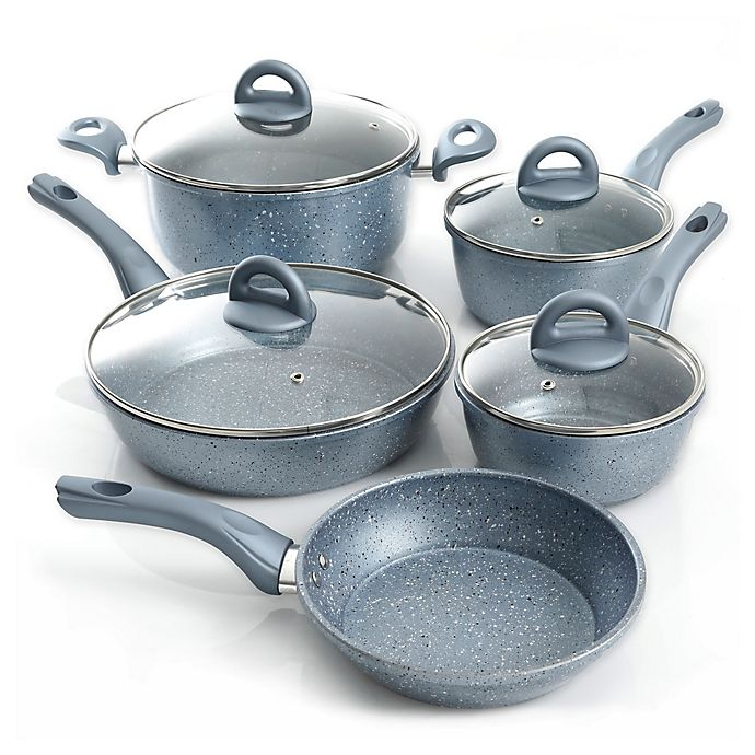 Alternate image 1 for Oster® Havendale Nonstick Aluminum 9-Piece Cookware Set