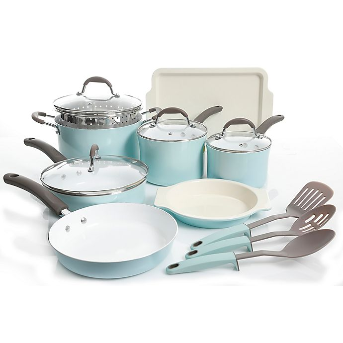 Alternate image 1 for Oster® Carrick 15-Piece Cookware Set