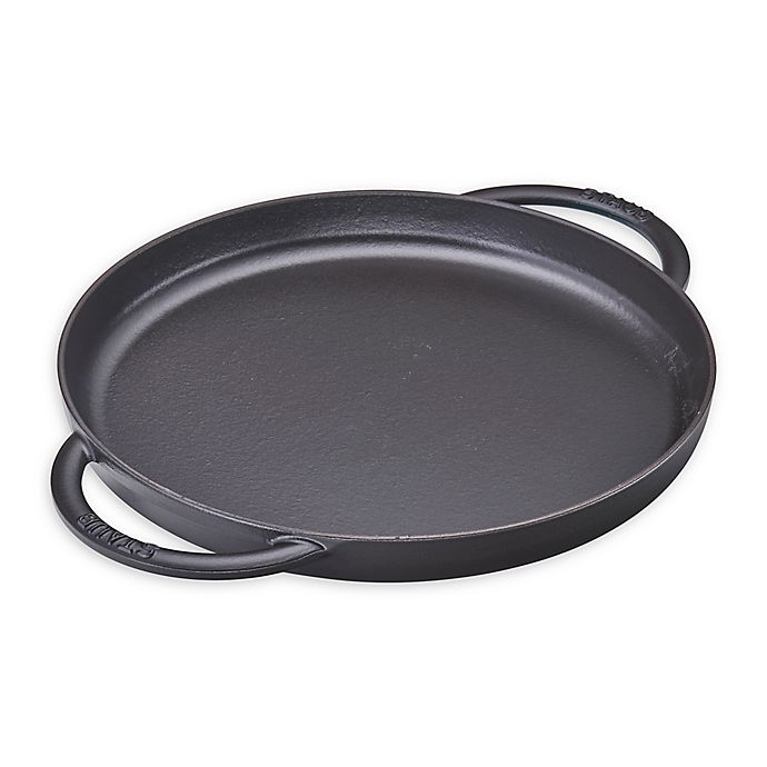 Alternate image 1 for Staub 12-Inch Round Double Handle Pure Griddle
