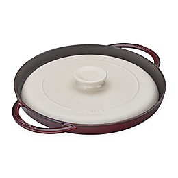 Staub 12-Inch Chicken Al Mattone Griddle and Press Set