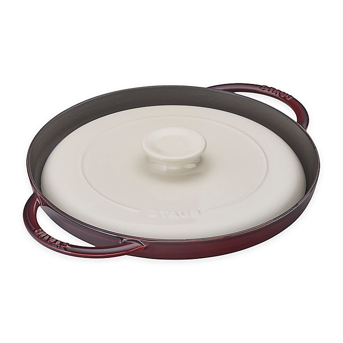 Alternate image 1 for Staub 12-Inch Chicken Al Mattone Griddle and Press Set