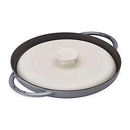 Staub 12-Inch Chicken Al Mattone Griddle and Press Set