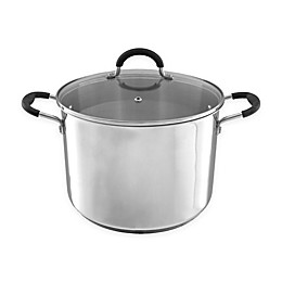 Classic Cuisine Stainless Steel Covered Stock Pot