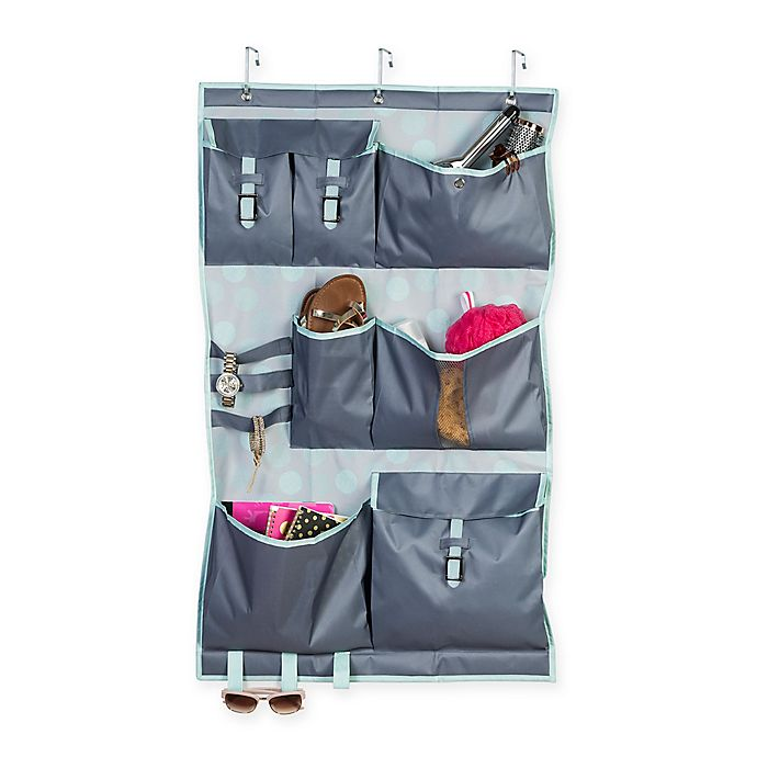 Alternate image 1 for Honey-Can-Do® Over-The-Door Pocket Organizer