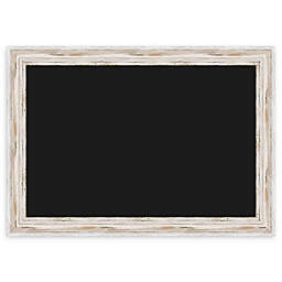 Amanti Art Alexandria Chalk Marker Board with Whitewash Frame
