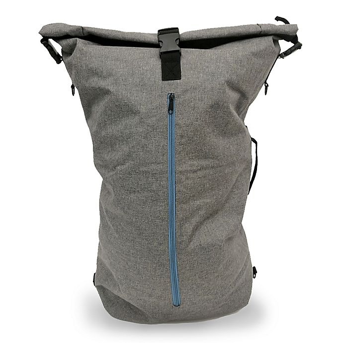 a87c0a3b3e3e Two-in-one Laundry Hamper Backpack Duffle Bag