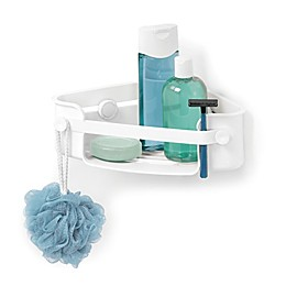 Umbra® Flex Gel Lock Corner Shower Caddy
