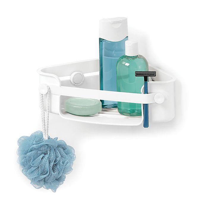 Alternate image 1 for Umbra® Flex Gel Lock Corner Shower Caddy