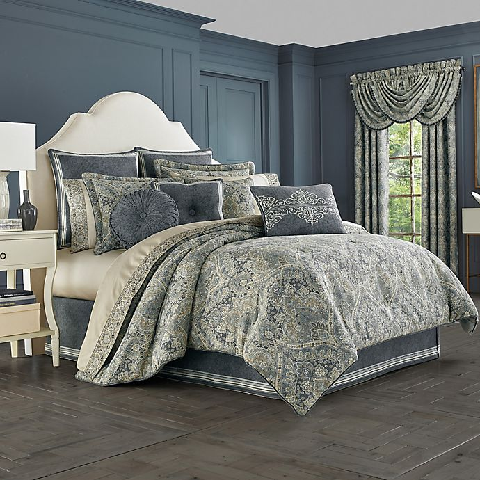 J Queen New York Miranda Comforter Set Bed Bath Amp Beyond
