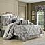 Part of the J. Queen New York Crystal Palace Jacquard Comforter Set