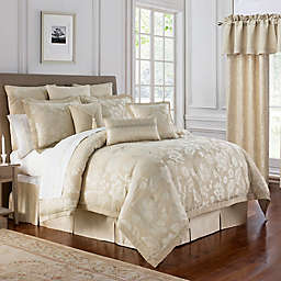 Marquis® by Waterford Emilia Comforter Set in Cream