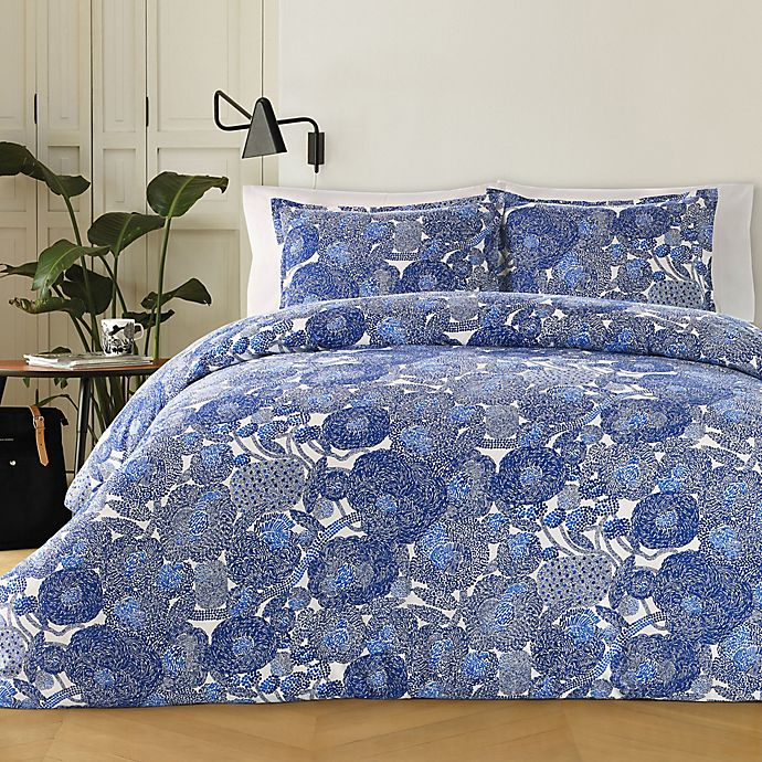 Alternate image 1 for marimekko® Mynsteri Twin Comforter Set in Blue