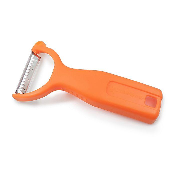 Alternate image 1 for Swissmar Julienne Blade Y-Peeler in Orange