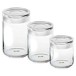 Guzzini® Stackable Glass Storage Jar Collection